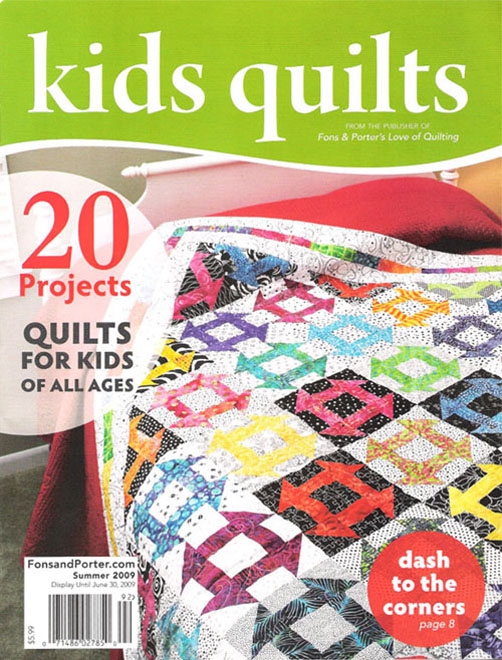 Quilting Discoveries Fons And Porters Love Of Quilting Kids Quilts